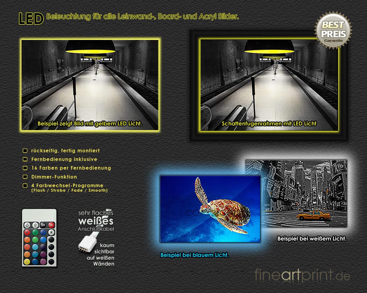 LED System Detailansicht