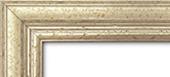 Holzrahmen Detailansicht Classic 1 Silber