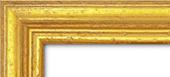 Holzrahmen Detailansicht Classic 1 Gold